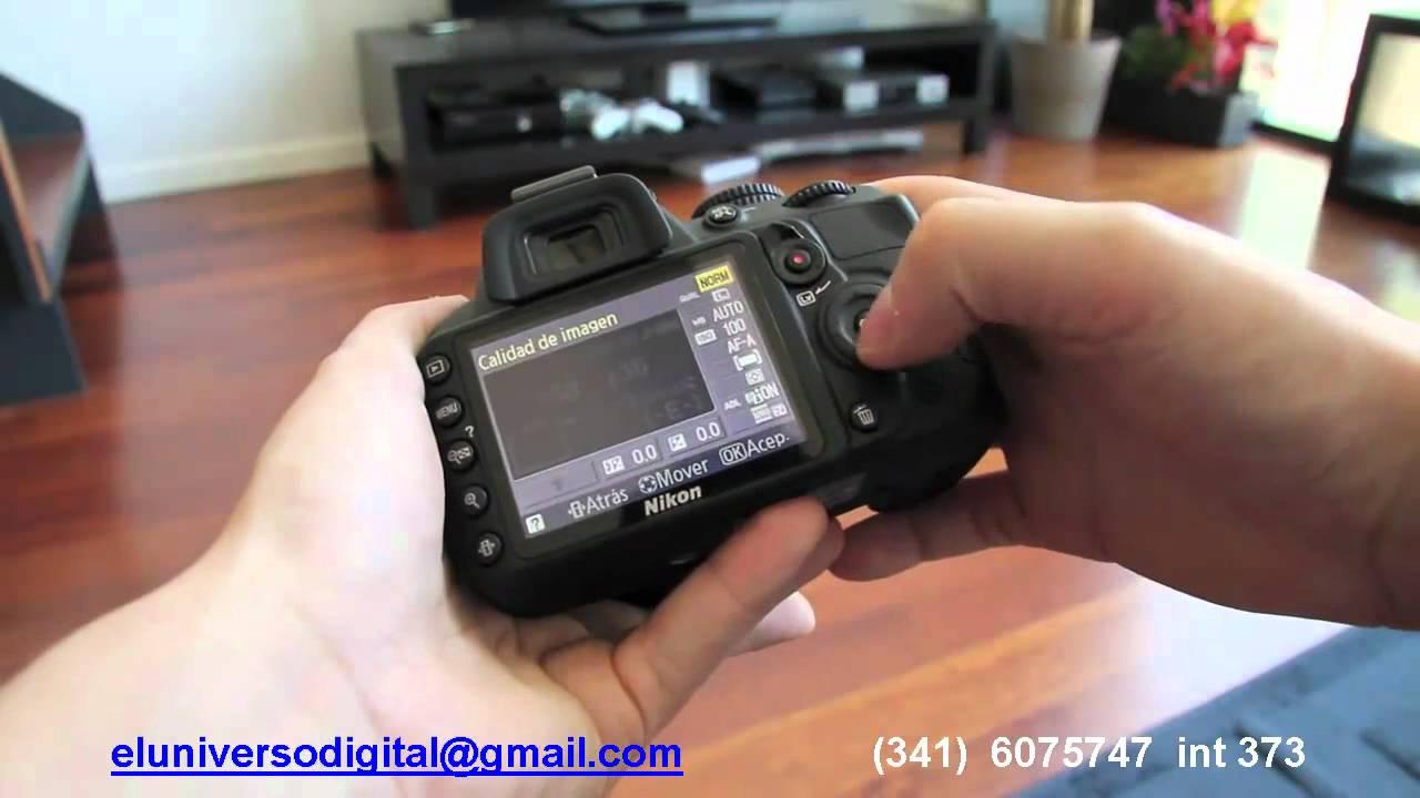 Nikon D3100 Rosario ,Camara fotografica nikon, Nikon rosario ...