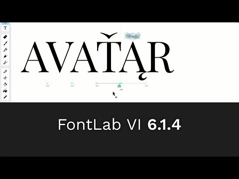 Open and export .glyphs files and other highlights from FontLab VI 6.1.4