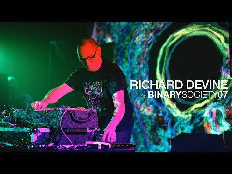 Richard Devine live at Binary Society 07