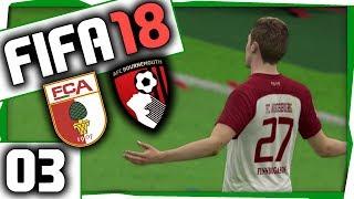 NICHT NACHLASSEN ⚽ FIFA 18 Karriere ⚽ 03 ⚽ European Int'l Cup: Augsburg vs. Bournemouth