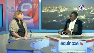 THE 6PM NEWS (GUEST: Melinda HOLMES) WEDNESDAY 12th JUNE 2019 - EQUINOXE TV