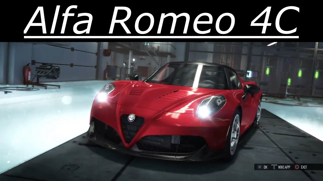 the crew tuning alfa romeo 4c test drive speed pack. Black Bedroom Furniture Sets. Home Design Ideas