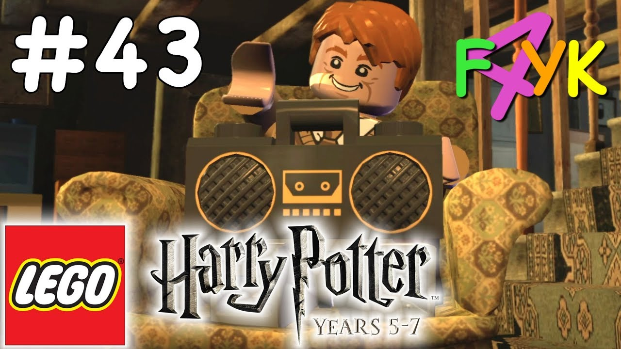 Lego Harry Potter Years 5 7 43 A Not So Merry Christmas 1 2 Youtube