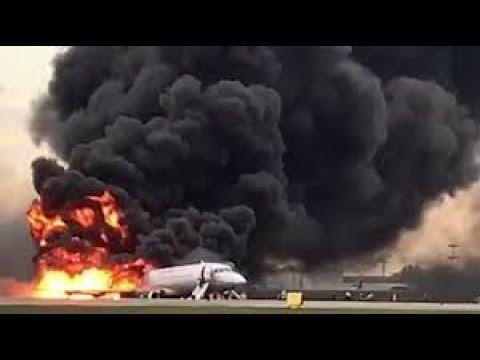 Video ghi cảnh máy bay chở khách rơi & bốc cháy!