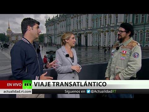 Hinchas brasileños llegan hasta Rusia 2018 en un Volkswagen 'Escarabajo'