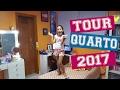 TOUR PELO MEU QUARTO 2017
