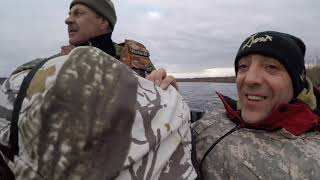 Весенняя охота на утку 2020 Якутия р. Вилюй