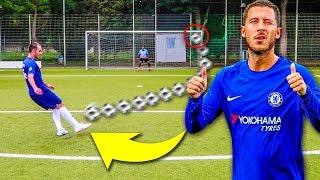 EDEN HAZARD FUßBALL CHALLENGE !!