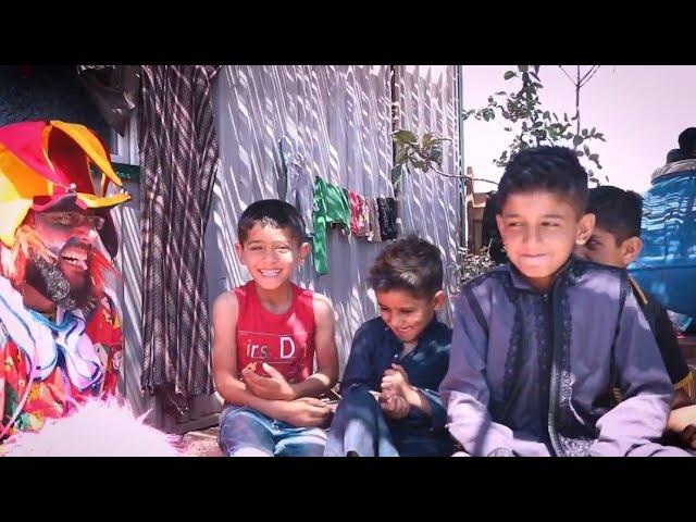 حلاق العيد في مخيمات أطمة بريف إدلب
