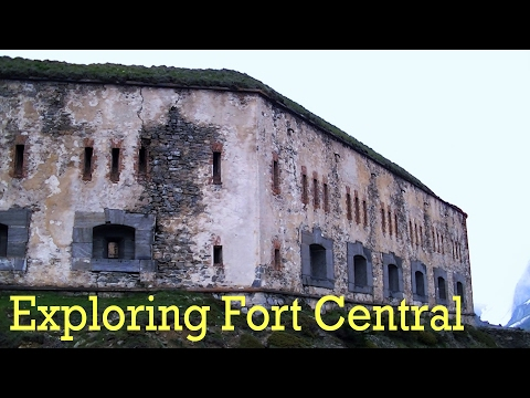 Exploring Fort Central, France / Italy