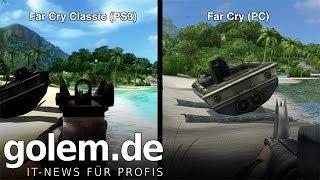 Far Cry Classic im Grafikvergleich - Gameplay klassisch, Technik antik