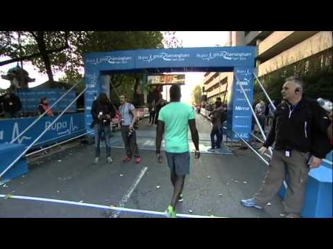 Andy Yu on Inside Out West Midlands  Great Birmingham Run 2014
