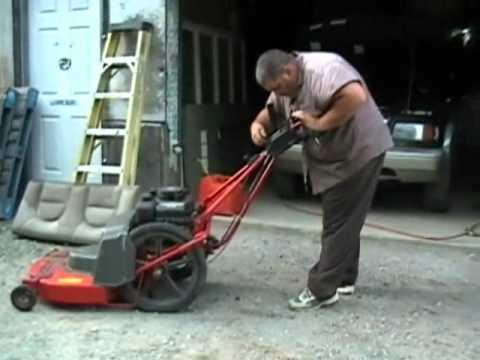 New Used Lawnmower Troy Built Tuff Cut Youtube