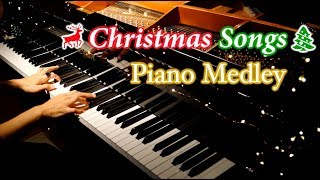 【Piano Cover】Merry Christmas 2019 - Christmas Medley Instrumental/クリスマスメドレー/ピアノカバー/CANACANA