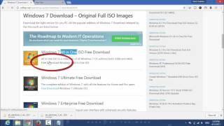 How to Download Windows 7 ultimate 64/32 bit for Free Full