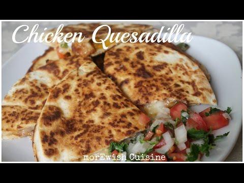 Chicken Quesadilla with Pico de Gallo   Mexican Cuisine   School lunch idea