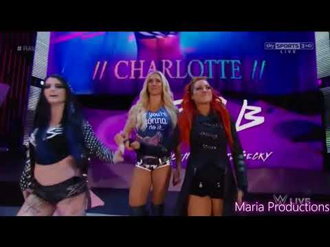 Team PCB enter the arena with The Shield's theme song