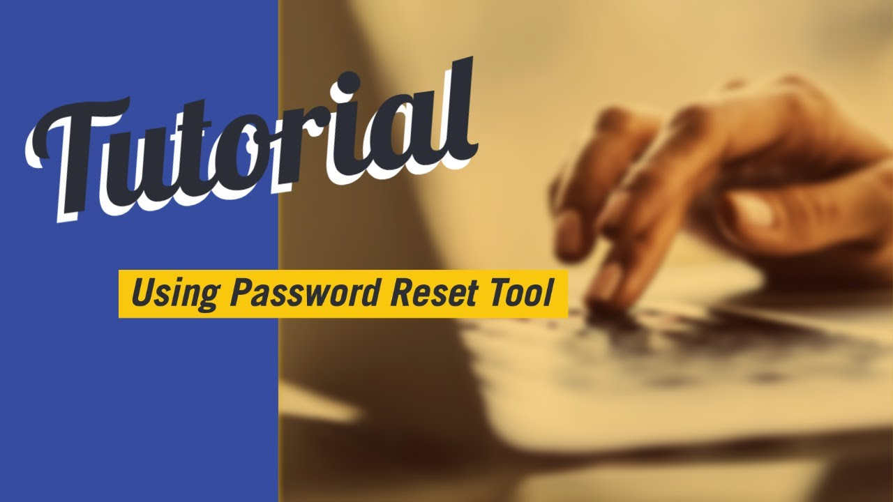 SMU's Password Reset Tool – IT Connect