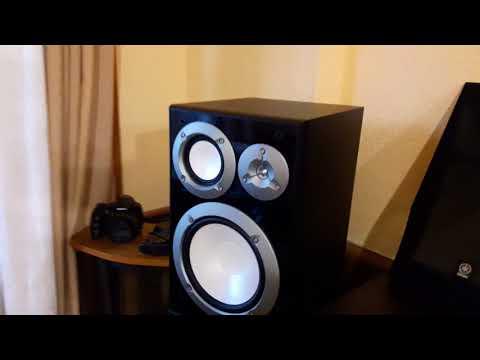 Prueba Yamaha NS 6490 2 3 Way Bookshelf Speakers Review