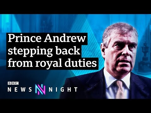 Prince Andrew steps