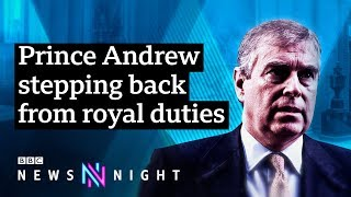 Prince Andrew steps back as Epstein scandal becomes 'major disruption' - BBC Newsnight