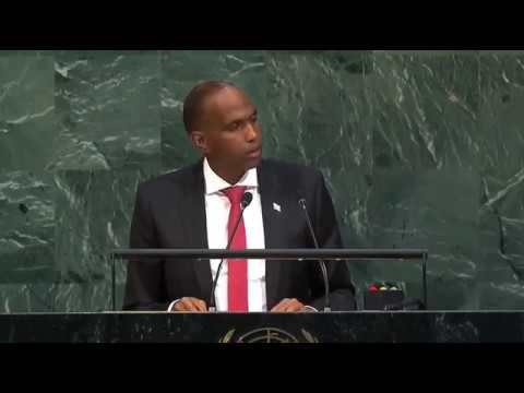 FULL: Somali PM's Speech at UN General assemply. Hassan Ali Kheyre at GA (22-09-2017)