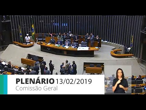PLENÁRIO - Comissão geral sobre Brumadinho - 13/02/2019 - 09:21