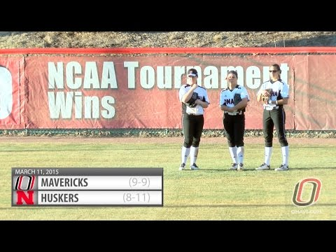 Softball Highlights: Omaha vs. Nebraska