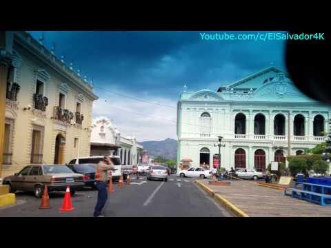 Ciudad de Santa Ana, El Salvador. Camino a  Apuzunga. Parte 1/9