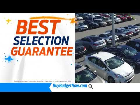 Guaranteed Best Selection and Best Price at Budget Car and Truck Sales!
