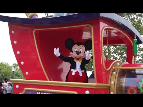 Mickey's Storybook Express Shanghai Disneyland Full Parade