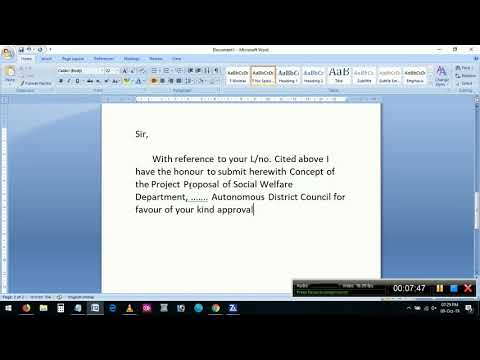 How To Write Forwarding Letter For Project Proposal Submission