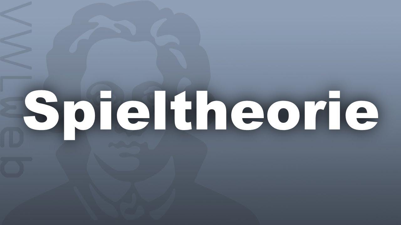 Spieltheorie Und Wirtschaftliches Verhalten