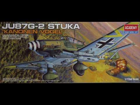 "1/72 Academy Ju 87/G-2 Stuka ""Kanonen Vogel"" Kit# 12404"