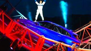 Jaguar SUV Loop The Loop World Record 2016 Jaguar F Pace SUV Driving! CARJAM TV HD 2016