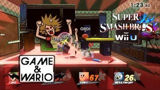 Super Smash Bros. Wii U : Game & Wario [Gamer / Version FR]