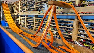 HOT WHEELS SIX LANE TEST TRACK | DECIDE YOUR RIDE