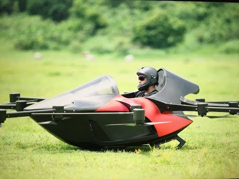 Smallest Flying Sports car -Koncepto Millenya-