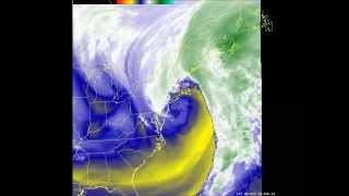 Water Vapor Imagery Loop for Feb 13-14, 2014