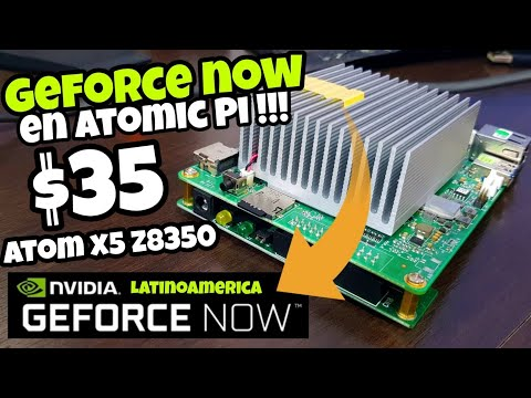 ATOMIC PI MINI PC REVIEW Vs GEFORCE NOW FORTNITE | PUBG | WATCH DOGS 2