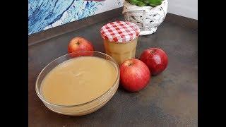 Яблочные пюре со сгущенным молоком!!!