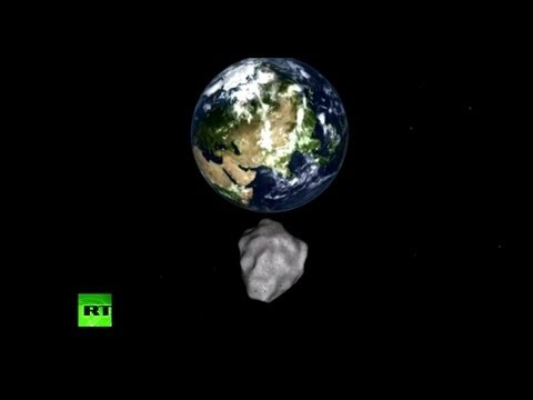 Observatory NASA video: Asteroid 2012 DA14 darts past Earth