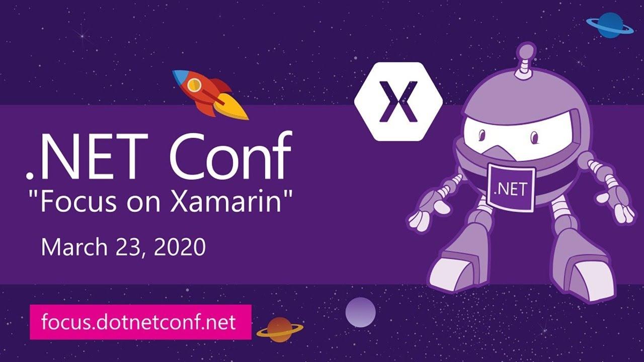 .NET Conf: Focus on Xamarin – Live Stream