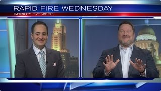 Rapid Fire Wednesday - Patriots Bye Week with Andy Gresh and Yianni Kourakis
