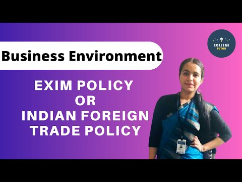 EXIM POLICY | Indian Foreign Trade Policy | Export Policy | Import Policy | Study at Home with me