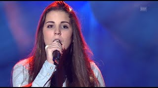 Nadja Färber - Skinny Love - Blind Audition - The Voice of Switzerland 2014