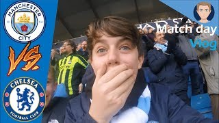 CITY SMASH CHELSEA! | MAN CITY 6 CHELSEA 0 | MATCHDAY 27 | VLOG #74