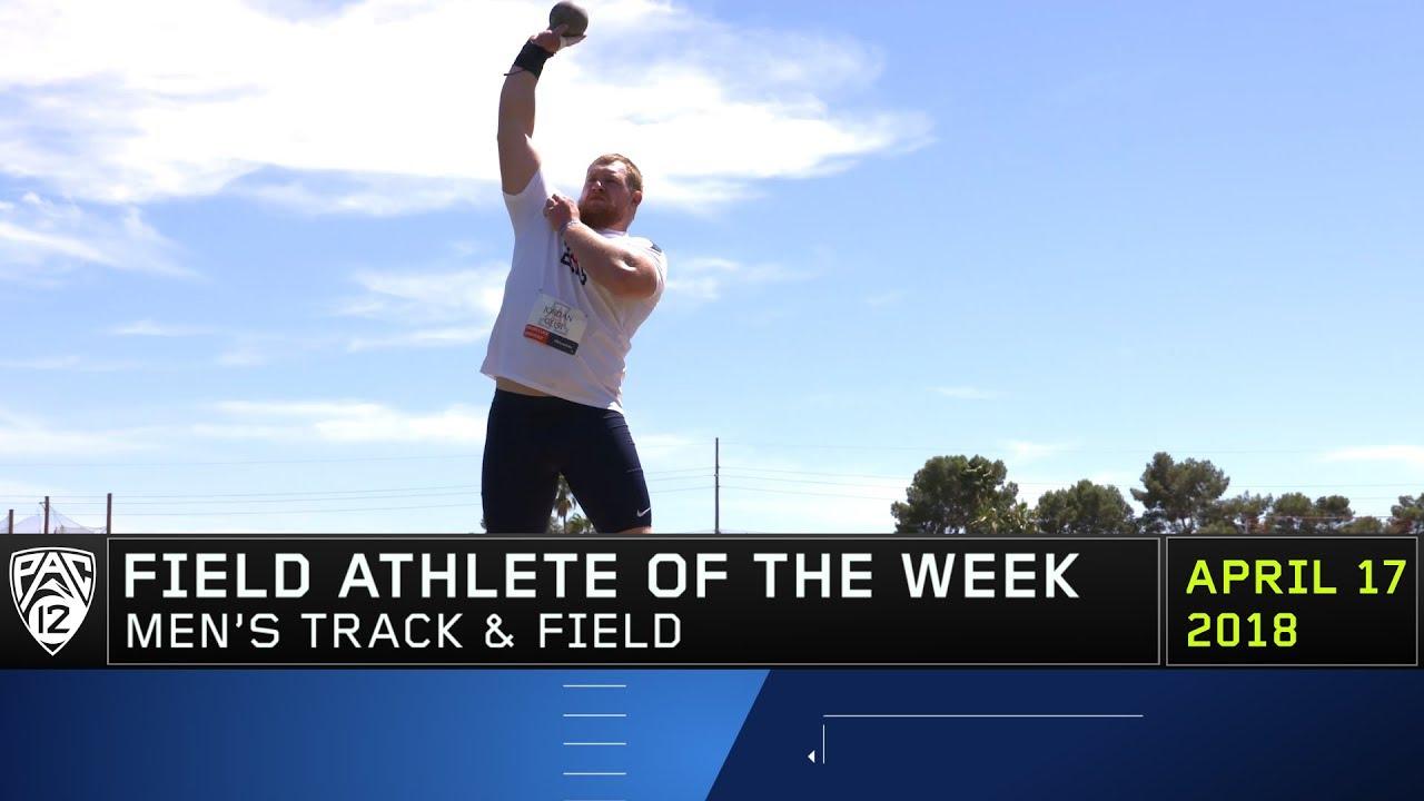 arizona-s-jordan-geist-earns-pac-12-men-s-field-athlete-of-the-week-honors