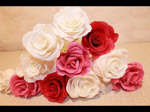 Выкройка для розы из гофрированной бумаги фото 686