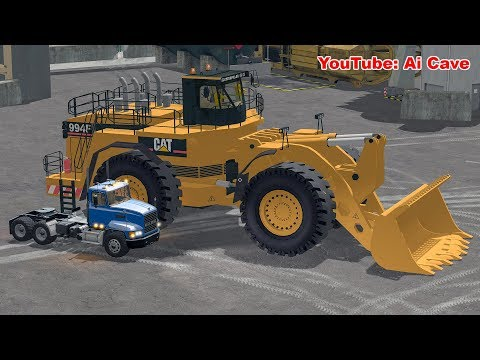 The Biggest wheel loader Mod in Farming Simulator 2017. For crazy large mining.